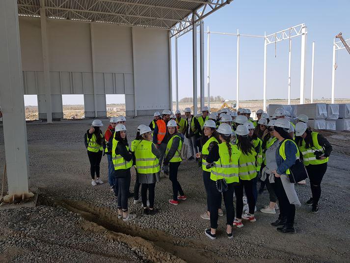 Studenti arhitekture u poseti KLPu