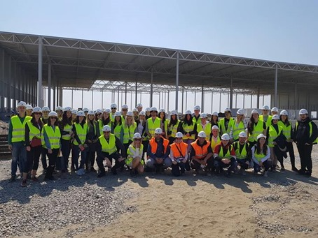 Studenti i arhitekte KLPa na gradilištu