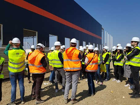 Studenti arhitekture u poseti KLP gradilišta